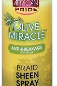 African Pride - Olive Miracle Braid Sheen Spray